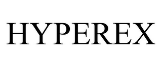 mark for HYPEREX, trademark #85639308