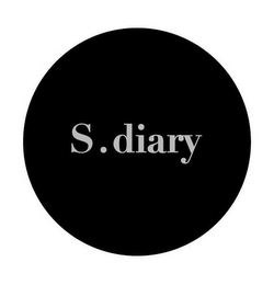 mark for S.DIARY, trademark #85639399
