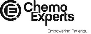 mark for CE CHEMO EXPERTS EMPOWERING PATIENTS., trademark #85639935