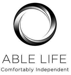 mark for ABLE LIFE COMFORTABLY INDEPENDENT, trademark #85640204