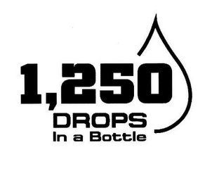 mark for 1,250 DROPS IN A BOTTLE, trademark #85640635
