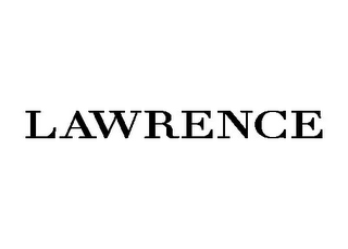 mark for LAWRENCE, trademark #85640716