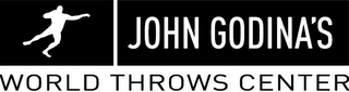 mark for JOHN GODINA'S WORLD THROWS CENTER, trademark #85640828