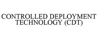 mark for CONTROLLED DEPLOYMENT TECHNOLOGY (CDT), trademark #85641214