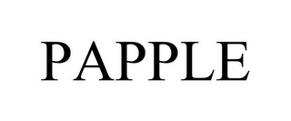 mark for PAPPLE, trademark #85641466