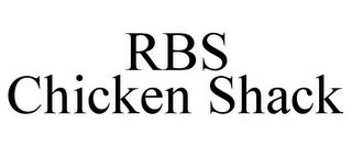 mark for RBS CHICKEN SHACK, trademark #85641527