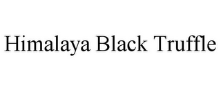 mark for HIMALAYA BLACK TRUFFLE, trademark #85641698
