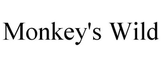mark for MONKEY'S WILD, trademark #85642067