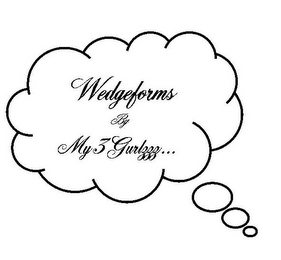mark for WEDGEFORMS BY MY3GURLZZZ..., trademark #85642136