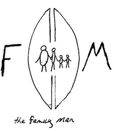 mark for THE FAMILY MAN F M, trademark #85642142