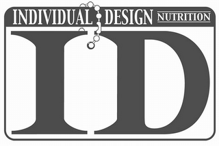 mark for INDIVIDUAL DESIGN NUTRITION ID, trademark #85642285