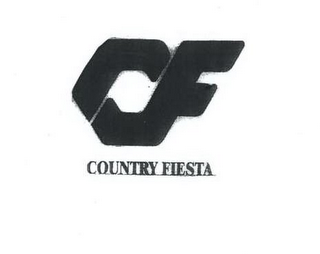 mark for CF COUNTRY FIESTA, trademark #85642606