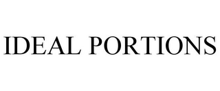 mark for IDEAL PORTIONS, trademark #85643082