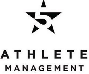 mark for 5 ATHLETE MANAGEMENT, trademark #85643105