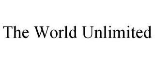 mark for THE WORLD UNLIMITED, trademark #85643221