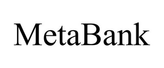 mark for METABANK, trademark #85643314