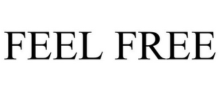 mark for FEEL FREE, trademark #85643323