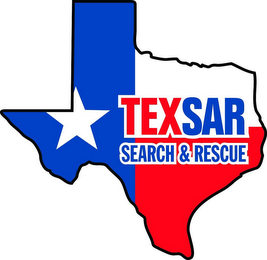 mark for TEXSAR SEARCH & RESCUE, trademark #85644191