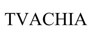 mark for TVACHIA, trademark #85644293