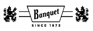 mark for BANQUET SINCE 1873, trademark #85644329
