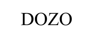 mark for DOZO, trademark #85644331