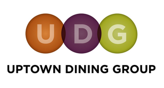 mark for UDG UPTOWN DINING GROUP, trademark #85644394