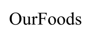 mark for OURFOODS, trademark #85644498