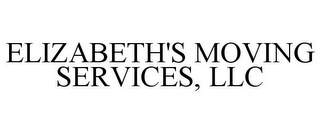 mark for ELIZABETH'S MOVING SERVICES, LLC, trademark #85644709