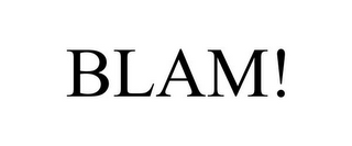 mark for BLAM!, trademark #85644820