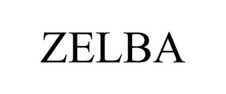 mark for ZELBA, trademark #85644841