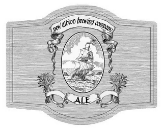 mark for NEW ALBION BREWING COMPANY ALE, trademark #85645075
