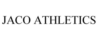 mark for JACO ATHLETICS, trademark #85645190
