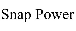 mark for SNAP POWER, trademark #85645381