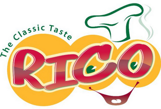 mark for THE CLASSIC TASTE RICO, trademark #85645387