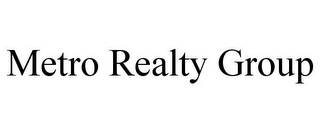 mark for METRO REALTY GROUP, trademark #85645416