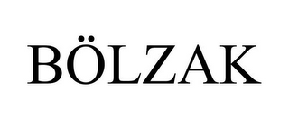 mark for BÖLZAK, trademark #85645488