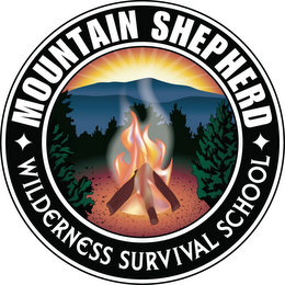 mark for MOUNTAIN SHEPHERD WILDERNESS SURVIVAL SCHOOL, trademark #85645795