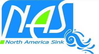 mark for NAS NORTH AMERICA SINK, trademark #85645890