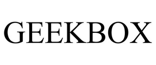 mark for GEEKBOX, trademark #85646564