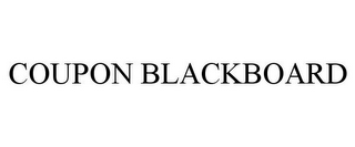 mark for COUPON BLACKBOARD, trademark #85646819