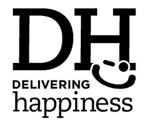 mark for DH DELIVERING HAPPINESS, trademark #85646897