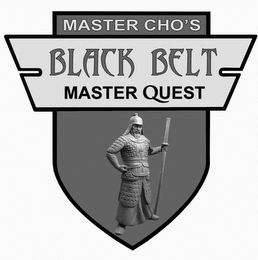 mark for MASTER CHO'S BLACK BELT MASTER QUEST, trademark #85646983