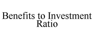mark for BENEFITS TO INVESTMENT RATIO, trademark #85647011