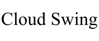 mark for CLOUD SWING, trademark #85647098