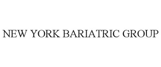 mark for NEW YORK BARIATRIC GROUP, trademark #85647168