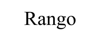 mark for RANGO, trademark #85647225