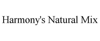 mark for HARMONY'S NATURAL MIX, trademark #85647287
