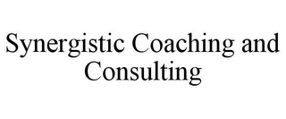 mark for SYNERGISTIC COACHING AND CONSULTING, trademark #85647295