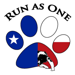 mark for RUN AS ONE, trademark #85647324
