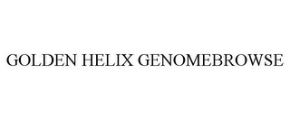 mark for GOLDEN HELIX GENOMEBROWSE, trademark #85647804